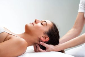 image of person getting therapeutic massage